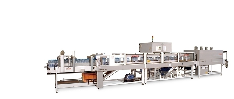 Automatic continuous wrapping machine EV850-50